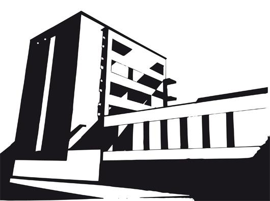 Carolin Scheffler, Bauhaus Gebäude Dessau