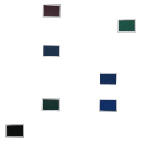Akzente dunkel - Verteilung im Bild